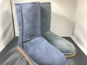 10e41565cdc Details about Ugg Womens Classic short II navy boots size 6 # 1016223 (727)