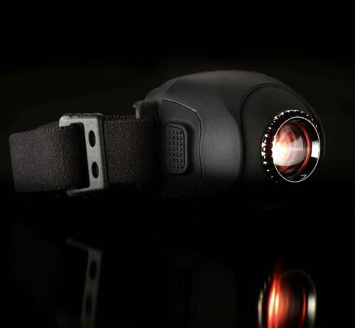 ND H9 led Head torch light headlamp black Rotating Zoomable rechargeable lamp