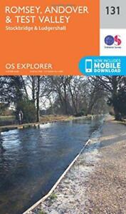 OS-Explorer-Carte-131-Romsey-Andover-et-Test-Valley-par-Ordnance-Survey-Neuf