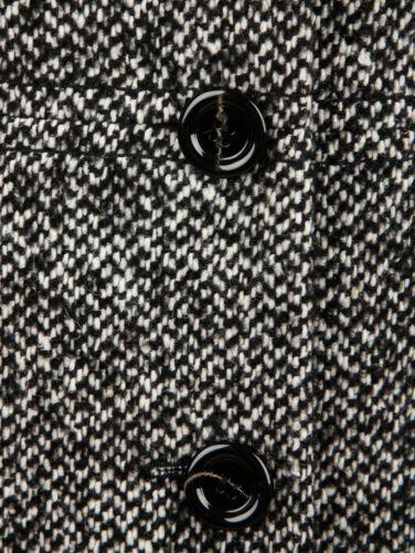 taille Tweed veste court Tweed veste en laine 48 manteau femme veste zq7wSnEzrg