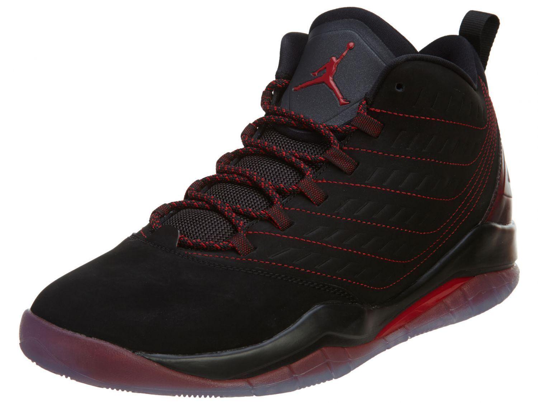 Men's Air Jordan Velocity Black/Gym Red/Black New In Box 688975-001