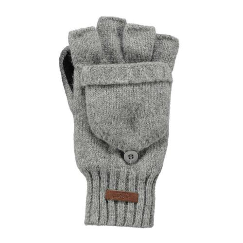 accessori Barts HAAKON bumgloves Heather Grigio Barts Guanti Uomo