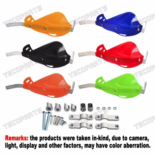 """Colorful Universal Motorcycle Brush Bar Hand Guards 7//8/"""" 22mm Mount Handguards"""