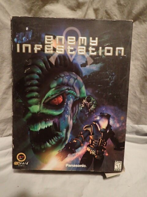 Enemy Infestation (PC) Vintage Strategy Complete Big Box, fast shipping