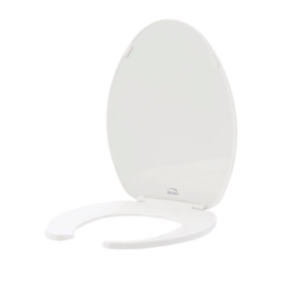 Groovy Details About Bemis Elongated Open Front Toilet Seat White Lid Cover Hardware Hinges Bumpers Creativecarmelina Interior Chair Design Creativecarmelinacom