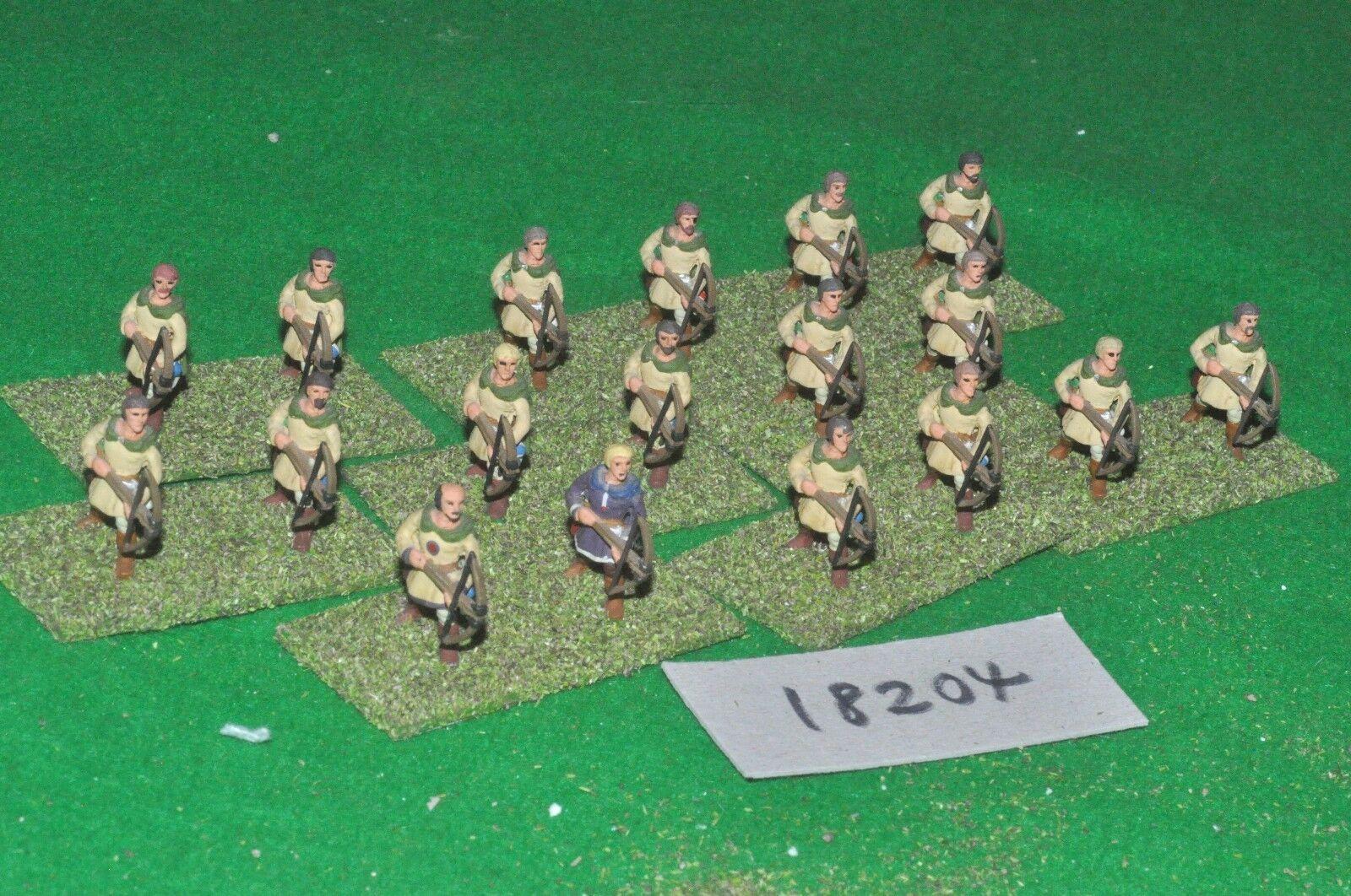 25mm byzantine crossbowmen 18 figures (18204)