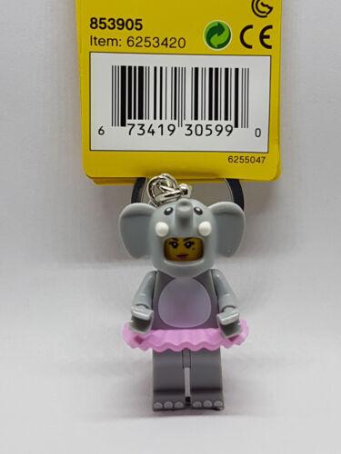 Elephant Girl Keyring 2019 - Classic Brand New Lego 853905