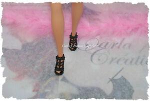 Fashion-Chaussure-Barbie-Poupee-Mannequin-Dress-Princesse-Mode-Escarpin-laniere