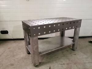 3D Schweißtisch 300kg Werktisch Montagetisch Stahl Werkbank