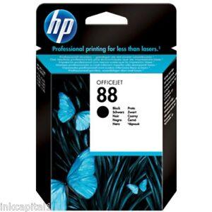 HP-NO-88-Negro-Original-Oem-Cartucho-inyeccion-de-Tinta-c9385a-for-L7590-L7600