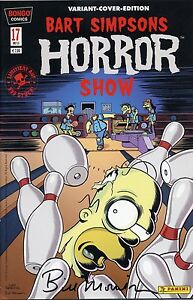 Bart-SIMPSONS-Horror-Show-17-VARIANT-COVER-lim-999-Ex-signiert-BILL-MORRISON