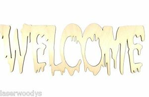 Spooky-Welcome-Unfinished-Wood-Shape-Cut-Out-SW325-Crafts-Lindahl-Woodcrafts