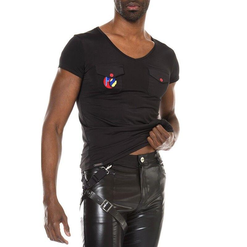 T-Shirt sexy Mann in version lycra Modell Livio Marke Patrice Catanzaro