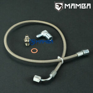Details about 1G 2G DSM Eclipse 4G63 Stainless Turbo Oil Feed Line 16G 20G  Oil Filter Location