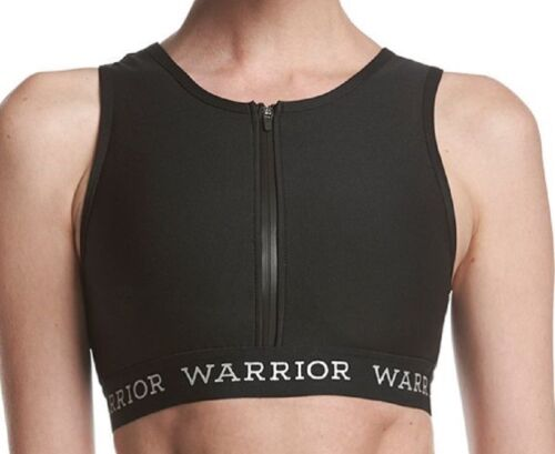 Warrior by Danica Patrick Zip Up Midi Sports Bra