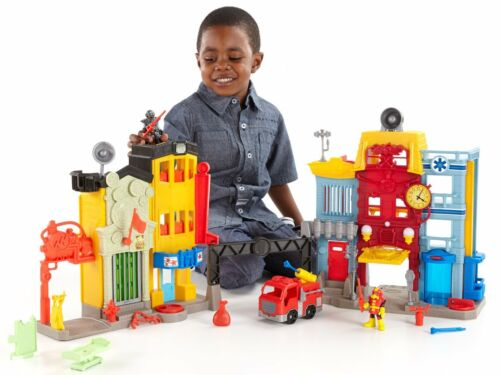 Fisher price rescue centre ville imaginext électronique interactif jouet tech action