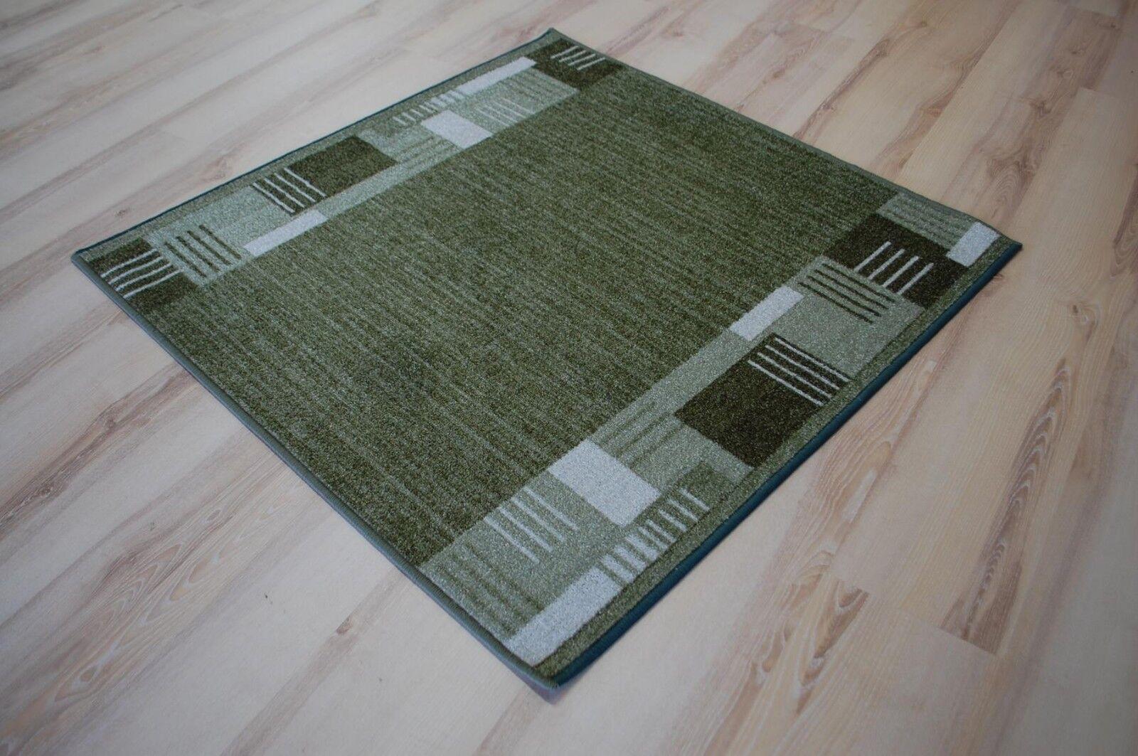 Tappeto lungo Aww Montana verde 100 cm Larghezza (Lunghezza 400-695cm su Misura)