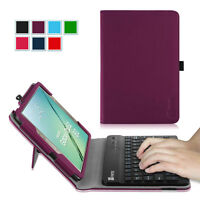 Fintie Folio Bluetooth Keyboard Case Cover Stand For Samsung Galaxy Tab S2 8.0