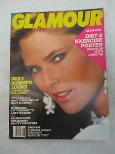 GLAMOUR MAGAZINE JUNE 1983 CHRISTY BRINKLEY NO LABEL VINTAGE WOMENS FASHION
