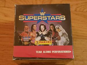 Panini WWF Superstars 1997, 1 box, 50 sticker packs, Rocky Maivia, rookie, PSA?