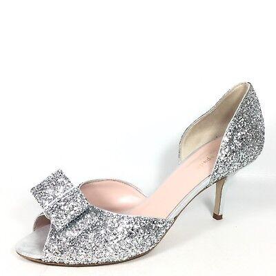 Kate Spade Sela Womens Size 9 M Silver