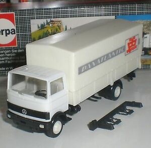 HERPA-CAMION-MERCEDES-DELIVERY-TRUCK-PANATLANTIC-ECHELLE-1-87-HO-OVP-OCCASION