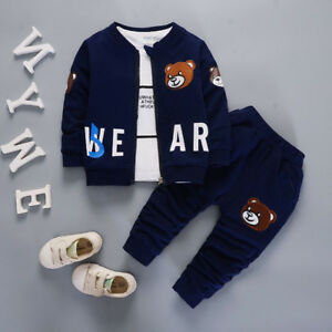 1b1d19756 Image is loading DIIMUU-Kids-Boys-Clothes-Baby-Boy-Outfits-Clothing-