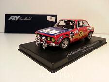 Slot car SCX Scalextric Fly 88127 Alfa Romeo Giulia GTV Rallye Costa Brava 1976