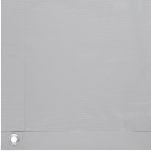 Brise vue pour balcon protection visuelle contre le vent jardin 0,9x6m gris