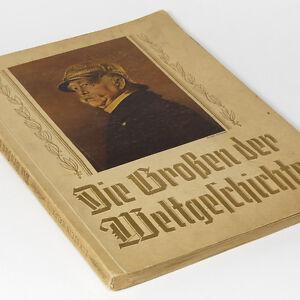 Card-Album-1930-Personalities-of-History-Frederick-the-Great-Napoleon-Bismarck