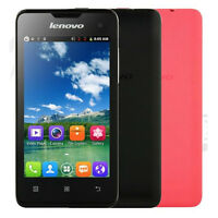 "Unlocked Lenovo A396 3G WCDMA 4.0"" Android Dual Sim Quad Core WIFI Mobile Phone"