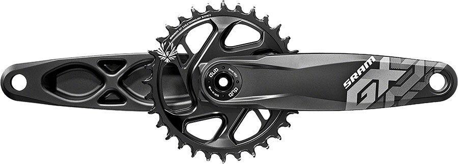 SRAM GX Eagle DUB Boost 1x 12 Velocidad Mountain Bike Bielas 32t X 170mm Negro