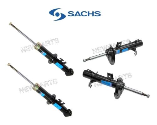 For Mini Cooper R50 R53 Base S Complete 2 Front Struts 2 Rear Shocks KIT Sachs