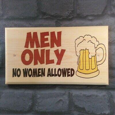 Man Cave Gift Sign Shed Dad Garage Beer Grandad Lad 374 Manly Men Plaque