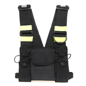 Tactical-Duty-Rescue-Chest-Backpack-Bag-BaoFeng-Yaesu-Motorola-ICOM-WalkieTalkie