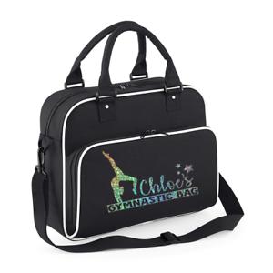 fadabd49de Personalised Name Gym Bag Children s Gymnastic Bags Gym Bags Custom ...
