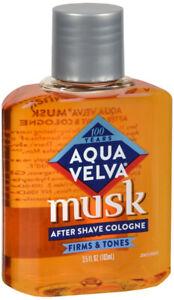 Aqua Velva Musk After Shave Cologne 3.5 oz