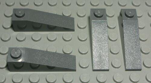 1475 # Lego Stein schräg positiv 1x4 new Dunkelgrau 4 Stück
