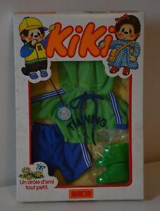 Enthousiaste Kiki Tenue Vintage Outfit Clothes 19cm Training Monchhichi Sekiguchi Ajena Moins Cher
