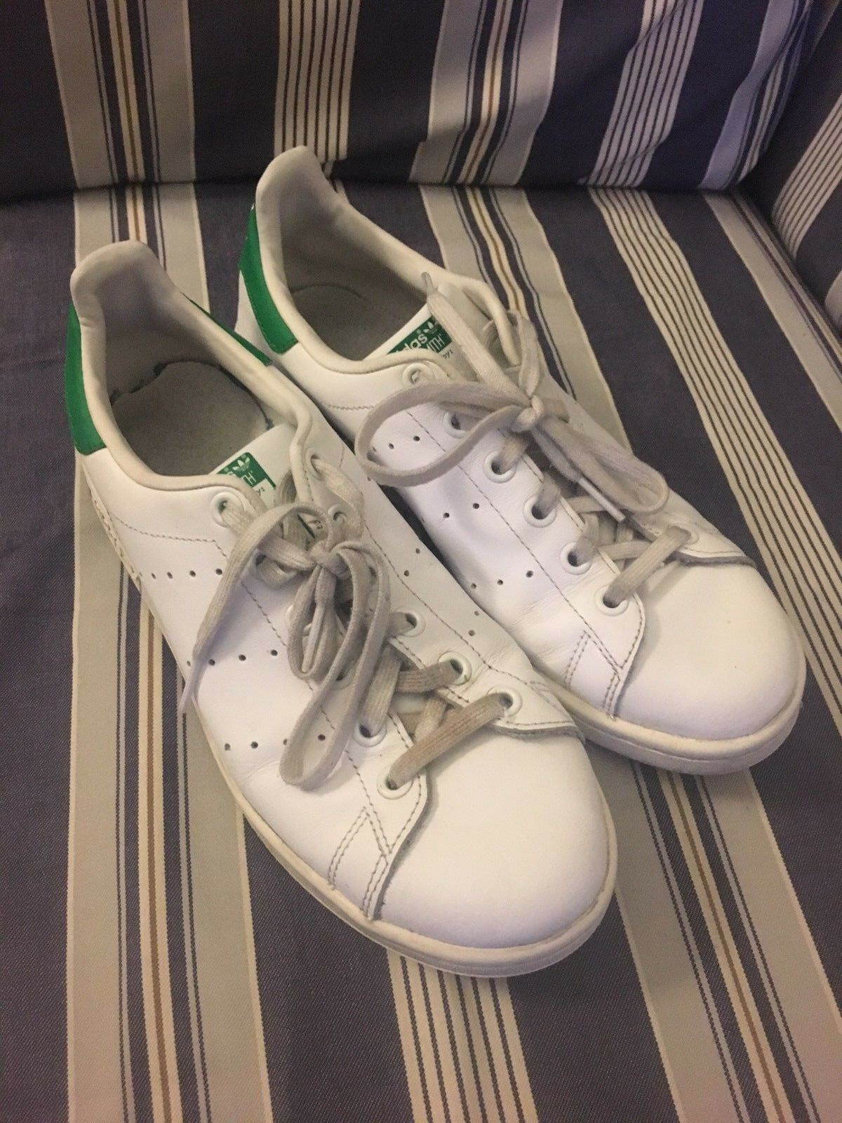 STAN SMITH ADIDAS ADULT SIZE 10 WHITE GREEN Cheap and beautiful fashion