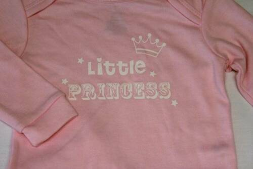 NEW Baby Girls 2 Pc Layette Set 3-6 Months Top Shirt Hat Outfit Princess Pink