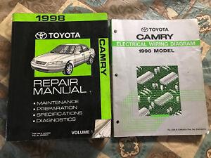 Toyota Camry Repair Manual 1 Electrical Wiring Diagram ...