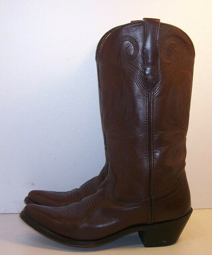 DURANGO Brown Leather Western Boots Women's Size 7.5 M
