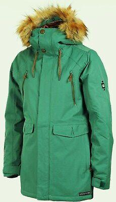 686 2019 Ceremony Women/'s Insulated Snowboard Jacket Fern Herringbone