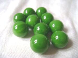 Nuevo 10 Verde Goblin 14mm Tradicional De Canicas De Vidrio Juego Ebay