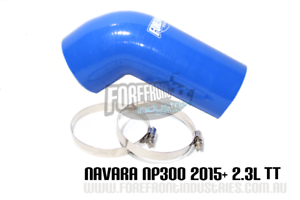 NP300-Navara-Intake-Pipe-Upgrade-inlet-hose-2-3L-2015-twin-turbo-diesel-BLUE