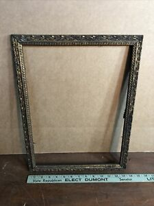 Vintage-Victorian-Gesso-Antique-Gold-Color-Frame-Fits-12-by-16-Painting