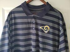 item 3 Los Angeles Rams NFL Football Blue Nike Dri Fit Polo Golf Shirt Mens  3XL XXXL -Los Angeles Rams NFL Football Blue Nike Dri Fit Polo Golf Shirt  Mens ... 9c73f4796