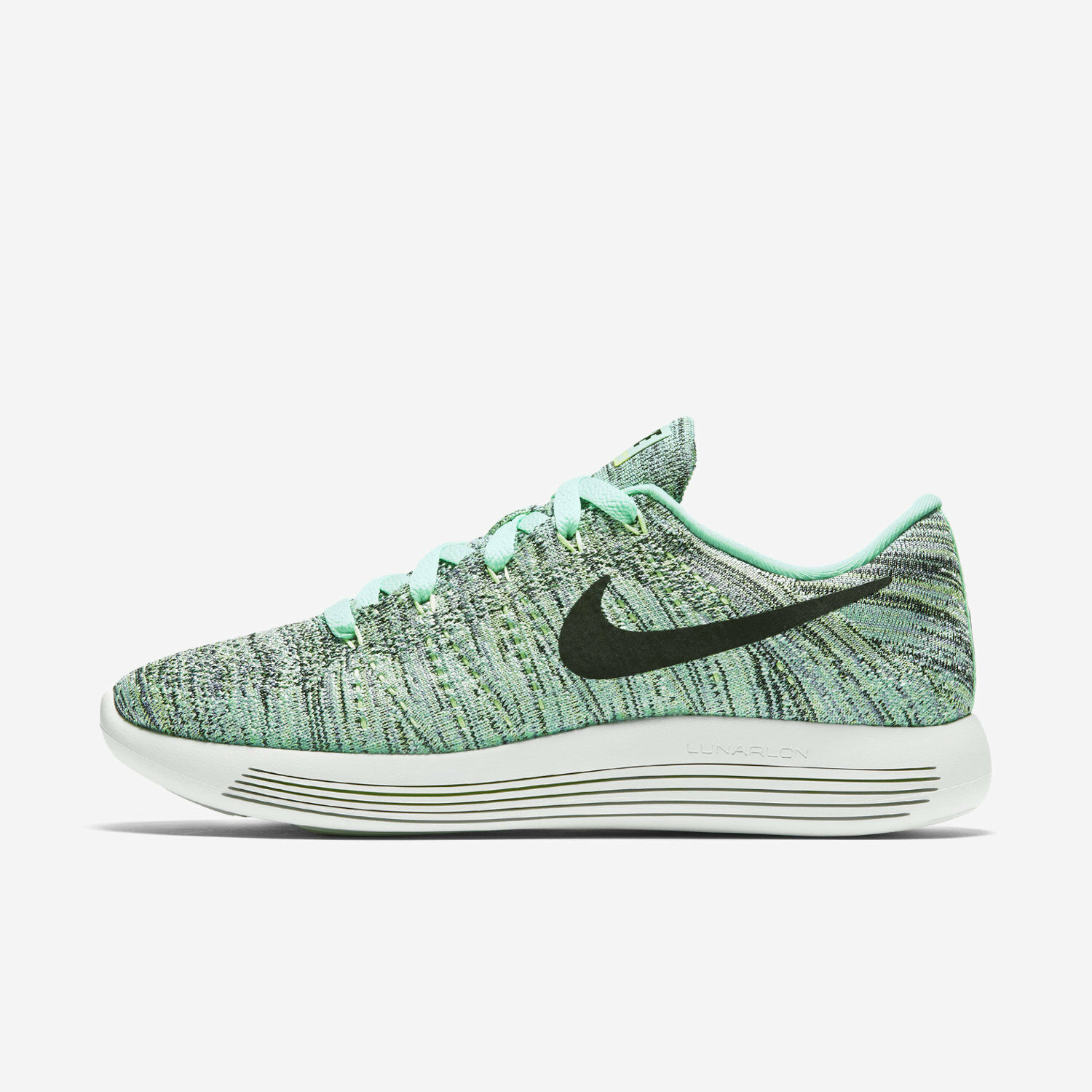 WMNS Nike Lunarepic Low Flyknit Sz 5 Green Glow/Black 843765-300 FREE SHIPPING The most popular shoes for men and women