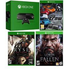 Microsoft 4743547 XBOX ONE with 3 Games, Matte Black, 1TB (Refurbished)